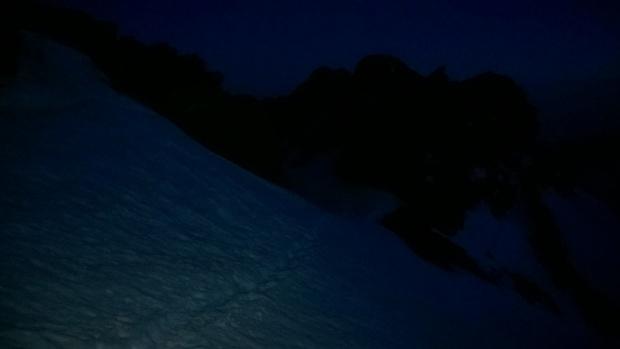 Paso de nieve con la noche cerrada (Ruta Río Seco #10 - Móvil)