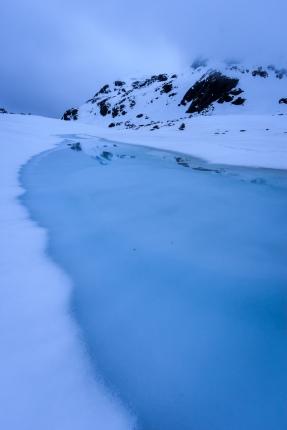Peñalara en azul intenso #4, primavera 2014