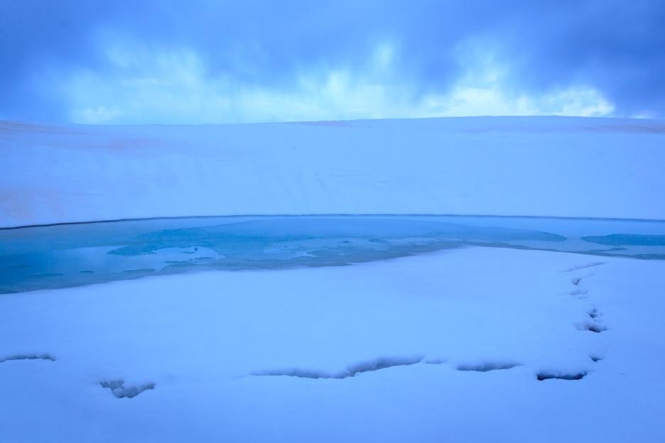 Peñalara en azul intenso #9, primavera 2014