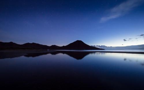 Amanecer de otoño en Cabo de Gata, 2014