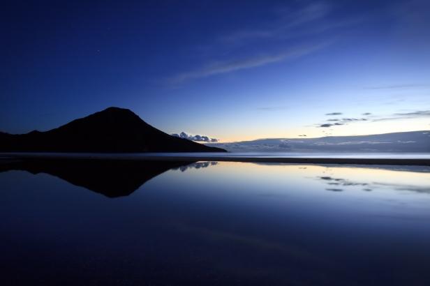 Amanecer en la playa de los Genoveses #1, Cabo de Gata, 2014
