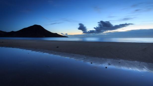 Amanecer en la playa de los Genoveses #3, Cabo de Gata, 2014