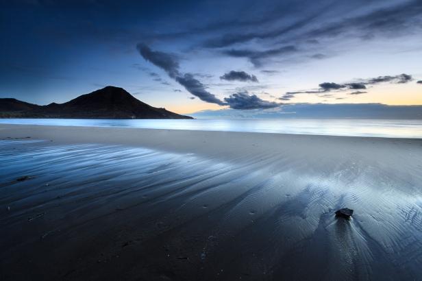 Amanecer en la playa de los Genoveses #4, Cabo de Gata, 2014