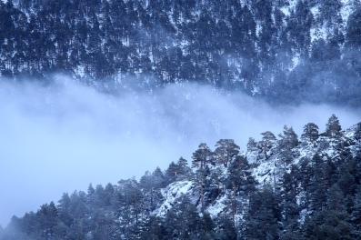 El corral de las nubes, Peñalara, invierno 2015