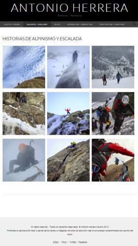 Porfolio-alpinismo-escalada